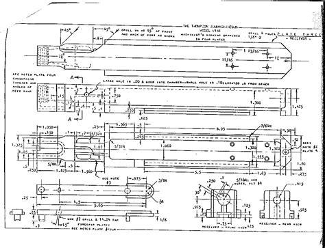 Aldo Leopold Bench Plans by Thompson Submachine Gun Plans Gun Shots