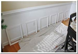 How To Do Wainscoting On Walls Installing Wainscoting Sand And Sisal