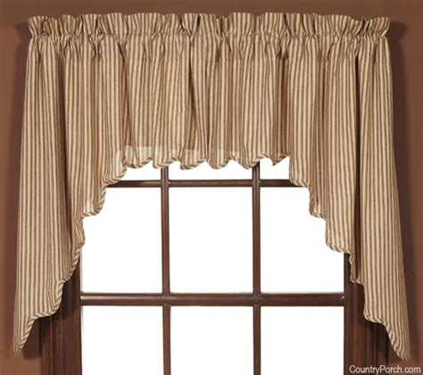 Victorian Heart Window Curtain Swags