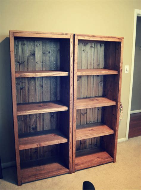 diy bookshelf white kentwood bookcases diy projects