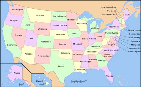 maps of usa file map of usa with state names png auxbwiki