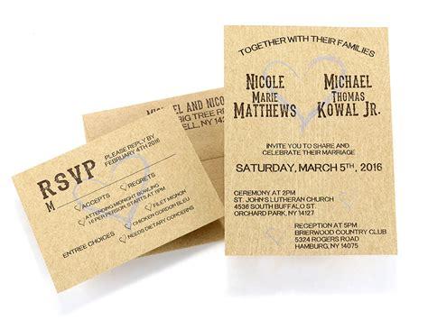 wedding invitations buffalo ny wedding invitation
