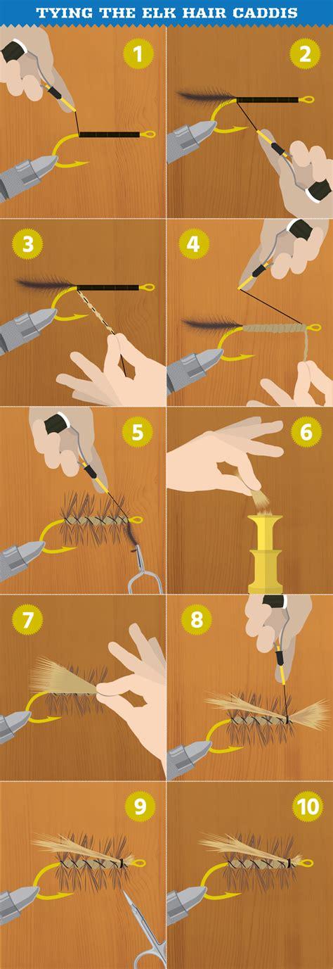 tying of hair tie your own flies this winter averageoutdoorsman
