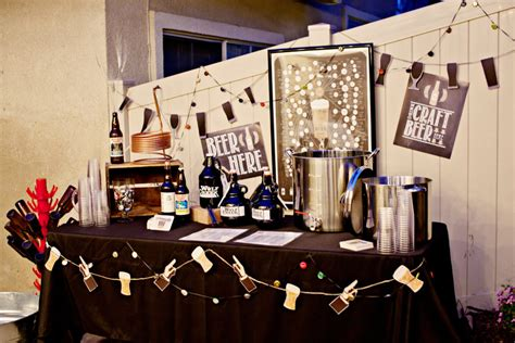 beer themed events brats beer 30th birthday party smash cake