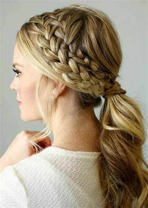 Fancy Ponytail Hairstyles by 25 Easy Ponytail Hairstyles To Try This Summer Tips For