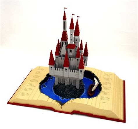i you a pop up book books stunning artwork made entirely from lego bricks