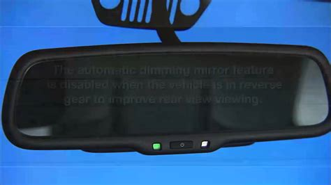 Jeep Patriot Rear View Mirror 2014 Jeep Wrangler Automatic Dimming Mirrors