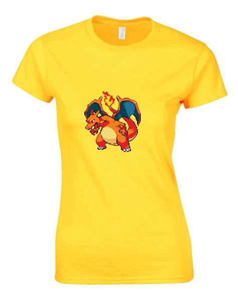 8bit Pikachu 1 Tshirt by 8 Bit Charizard Printed T Shirt Ebay
