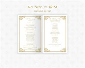 wedding vows template free printable wedding ceremony program templates