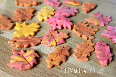 Home Made Fall Decorations Cinnamon Salt Dough Leaf Ornaments The Imagination Tree