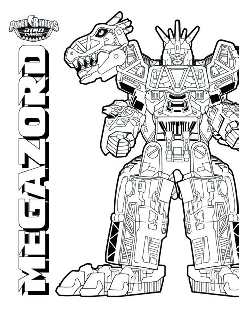 power rangers dino charge coloring pages to print original power rangers megazord coloring pages www