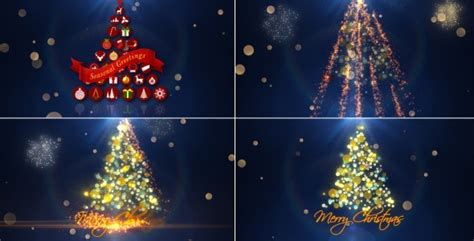 videohive christmas intro     effects templates