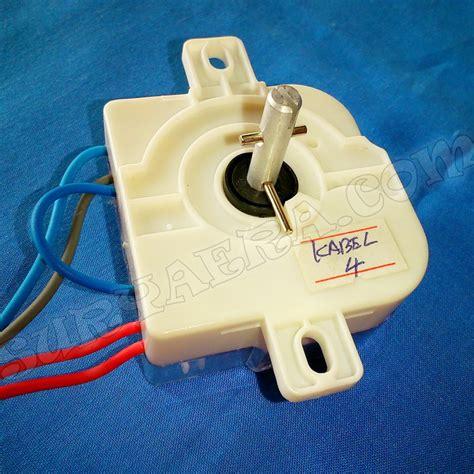Spare Part Mesin Cuci Electrolux timer mesin cuci 4 kabel juga 3 5 6 7 kabel surya era