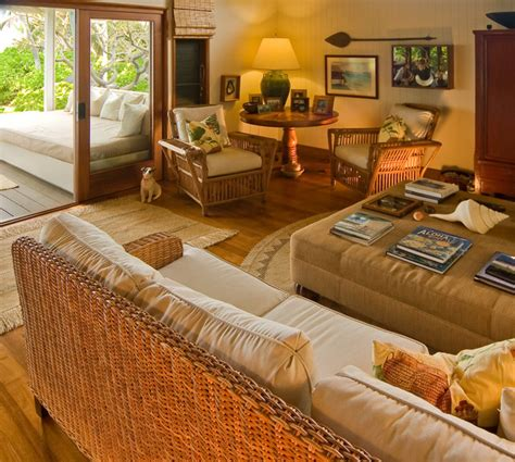 hawaiian cottage style traditional family room hawaii fine design interiors