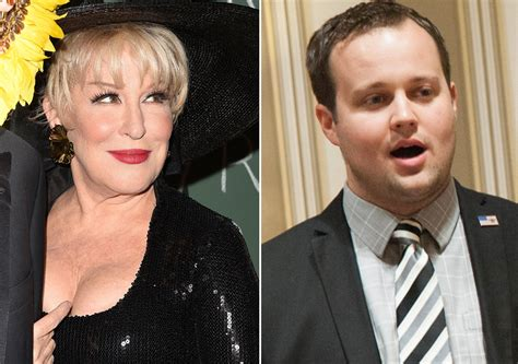 bette midler family scoop bette midler blasts josh duggar