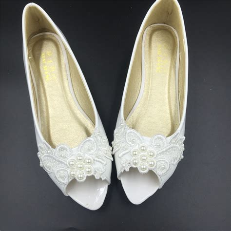 Wedding Shoes Open Toe by White Open Toe Bridal Shoes Ivory White Peep Toe