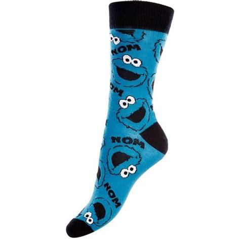 blue pattern socks blue pattern cookie monster socks 163 3 99 liked on