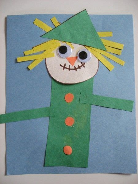 scarecrow crafts for scarecrows scarecrow crafts and shape on
