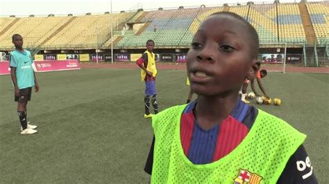 barcelona academy barcelona sets up nigeria academy youtube