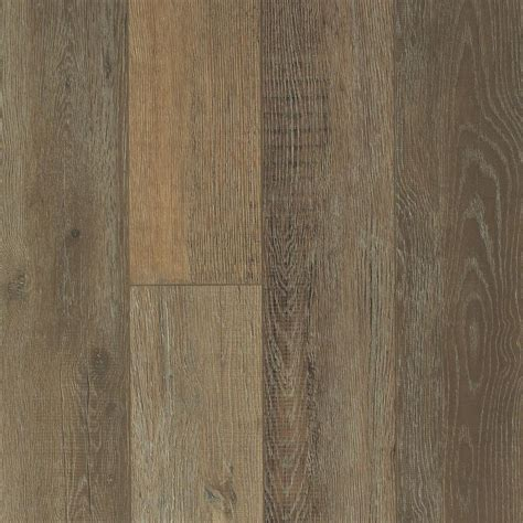 shaw  home sample medina oak canyon resilient vinyl plank flooring      sh