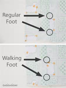learn to sew how to use a walking foot cucicucicoo