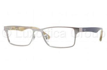 Ban Rx 6238 Gunmetal Www Tapdance Org ban rx rx6238 eyeglasses www tapdance org
