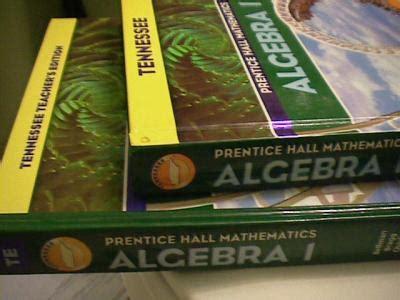 ebluejay: 0131314149 prentice hall algebra 1 tn + teacher