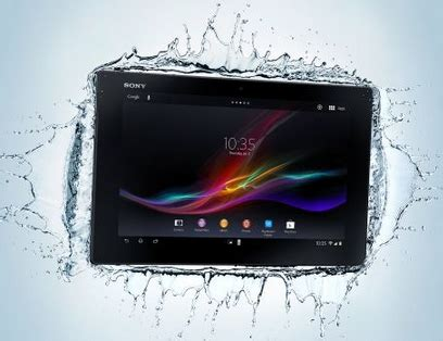 Tablet Sony Terbaru harga sony xperia tablet z lte terbaru agustus 2015 tablet android tahan air ct house