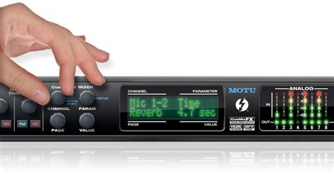 tutorial cuemix fx motu 828x audio interface mit thunderbolt technologie