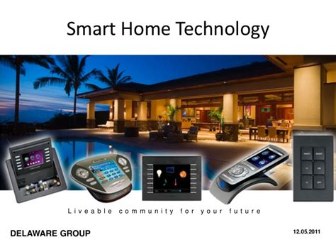 in home technologies smart home technologies