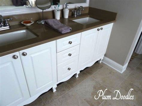 Bathroom Vanities That Look Like Furniture Make A Bathroom Vanity Look Like A Custom Of Furniture Sawdust 174