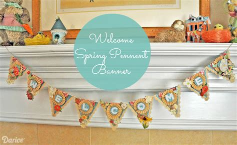 pennant banner welcome paper banner tutorial