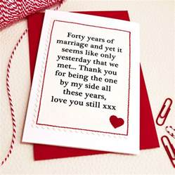 handmade wedding anniversary card by arnott cards gifts notonthehighstreet