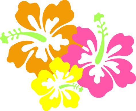 free printable luau flowers hawaiian luau clip art clipart panda free clipart images