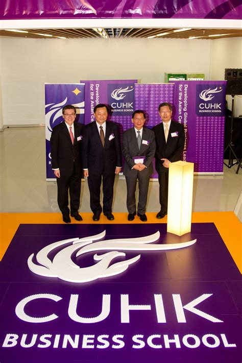 Cuhk Business School Mba Ranking by Of Hong Kong Rebrands Faculty Of