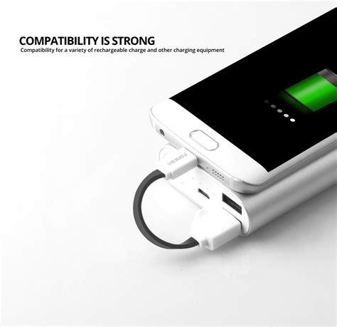 Kabel Powerbank Micro 20 Cm fonken kabel charger micro usb 10cm khusus power bank fk