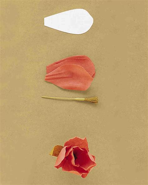 How To Make Paper Roses Martha Stewart - how to make crepe paper flowers martha stewart weddings