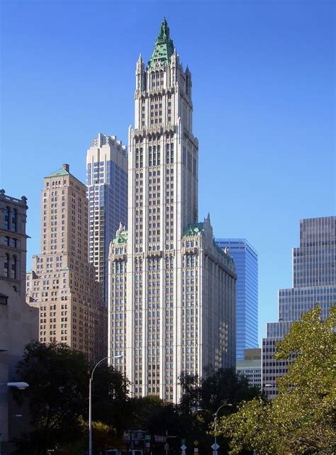 tower ny woolworth building nyc images