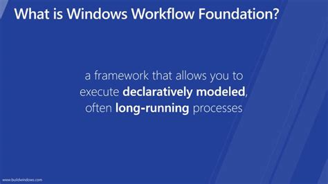 what is microsoft workflow ppt building apps with windows workflow foundation and