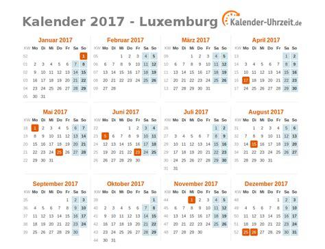 Calendar 2018 Luxembourg Feiertage 2017 Luxemburg Kalender 220 Bersicht