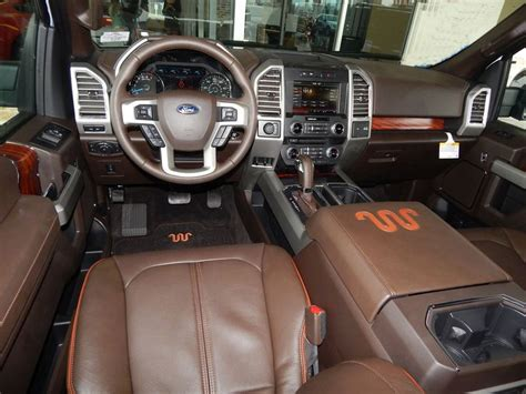 King Ranch F250 Interior by Interior View Of The 2015 Ford F150 King Ranch Supercrew