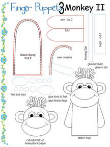 11 finger puppet templates free pdf documents
