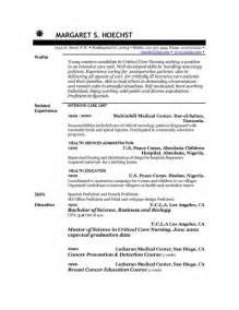 view nursing resumes 1