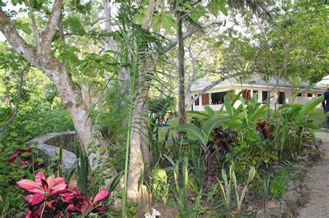Flemings Gardens by Ian Flemings Goldeneye House Jamaica