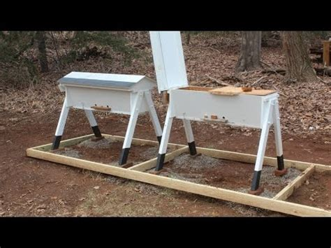 how to build top bar hive build a top bar beehive part 2 jon peters art home