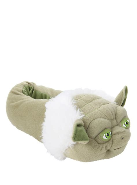 yoda slippers for wars yoda plush slippers topic