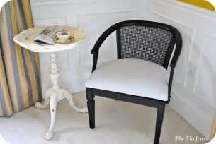 Cane Back Chair Redo » Home Design 2017
