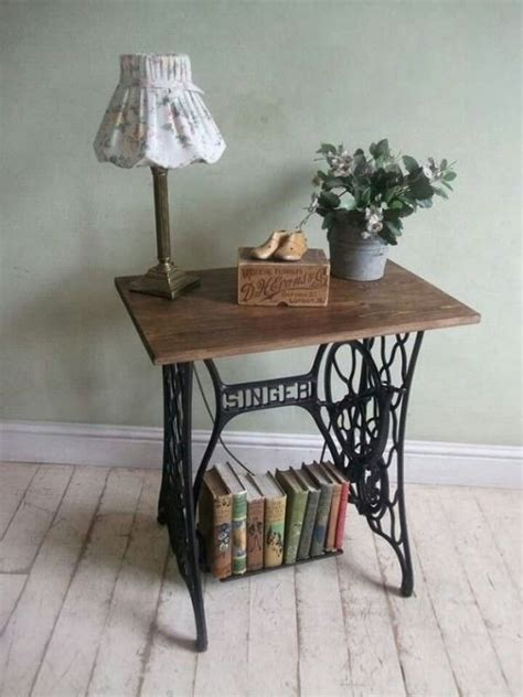 25 best ideas about sewing machine tables on