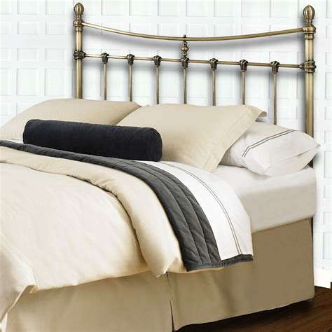 brass bed headboards leighton antique brass cal king headboard b32287