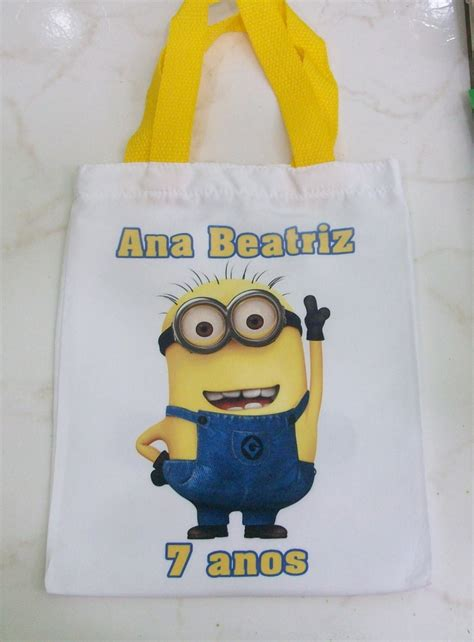 Eco Minion by Eco Bag Minions Sapeka Personalizados Elo7